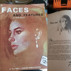 Faces and Features by Fritz Willis. Vintage